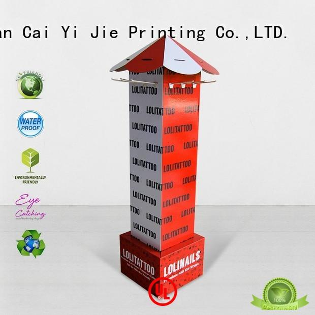 CAI YI JIE ODM hook display stand hook stands for supermarket