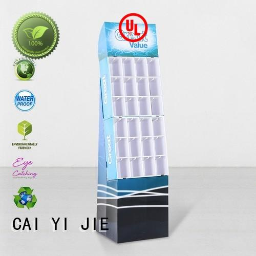 CAI YI JIE ODM cardboard products hook stands for perfume