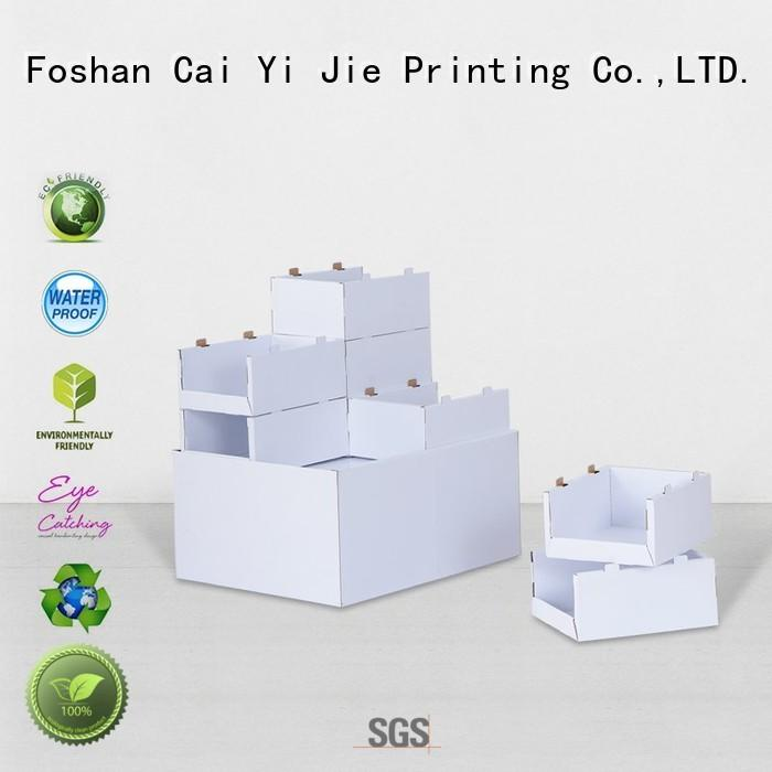 CAI YI JIE pallet display sales for shop
