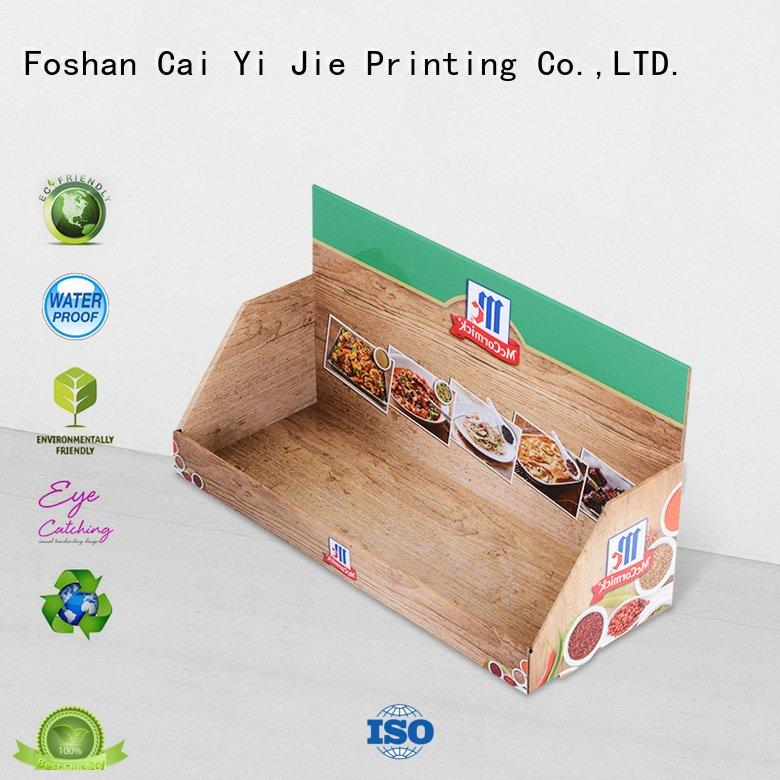 custom cardboard counter displays units counter boxes promotional