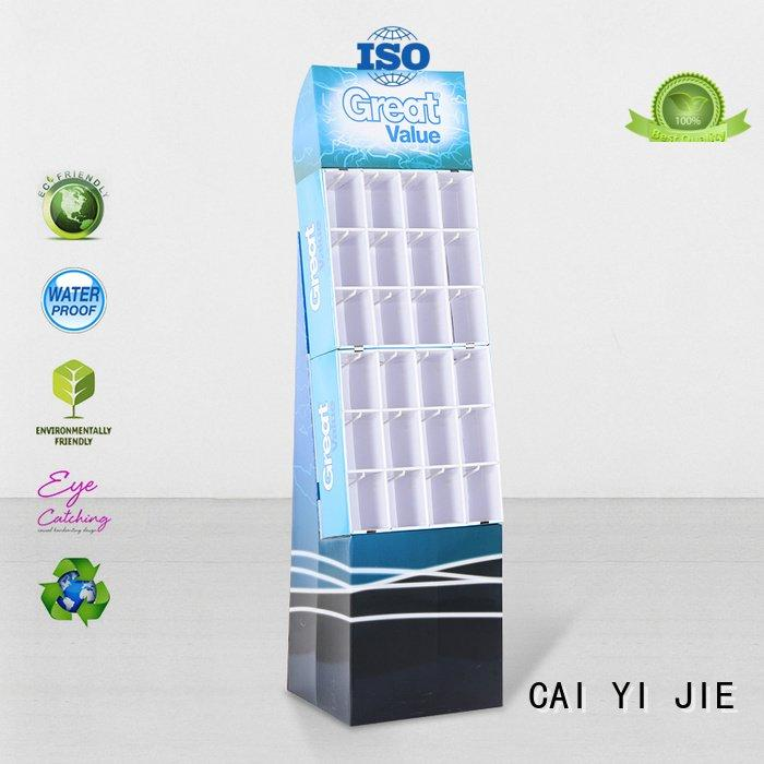 Hot counter hook display stand full stands stair CAI YI JIE Brand