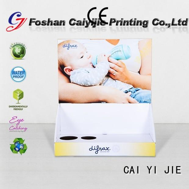 CAI YI JIE display packaging boxes stands boxes for products