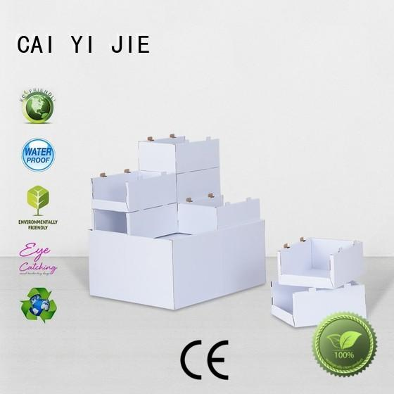 cardboard pallet display easy cardboard carton Warranty CAI YI JIE