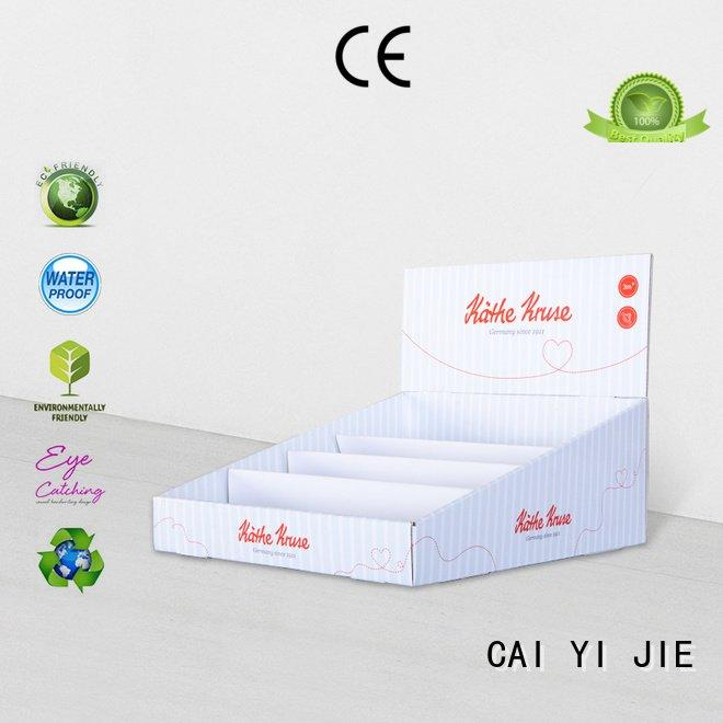 grocery boxes stands cardboard display boxes CAI YI JIE