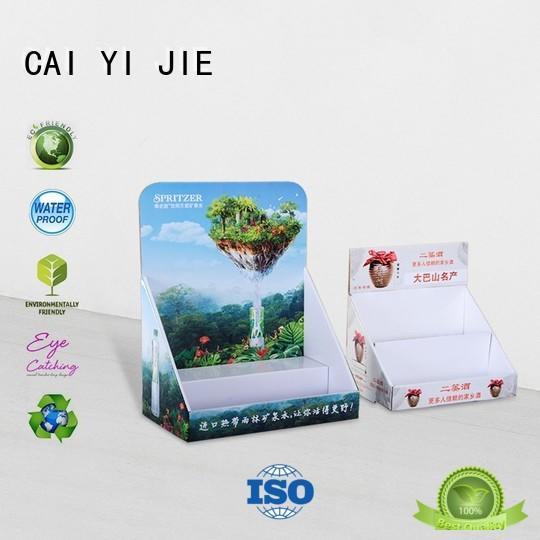 counter cardboard counter OEM for marketing CAI YI JIE