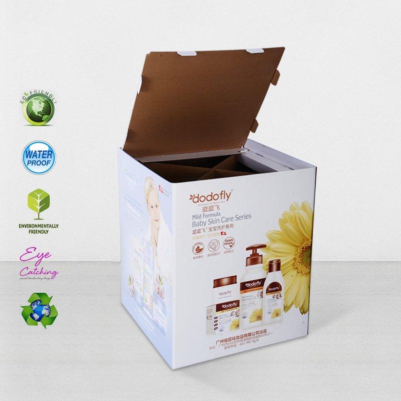 CAI YI JIE Cardboard Dumpbin Floor Standing For Daily Commodities Cardboard Dumpbins image51