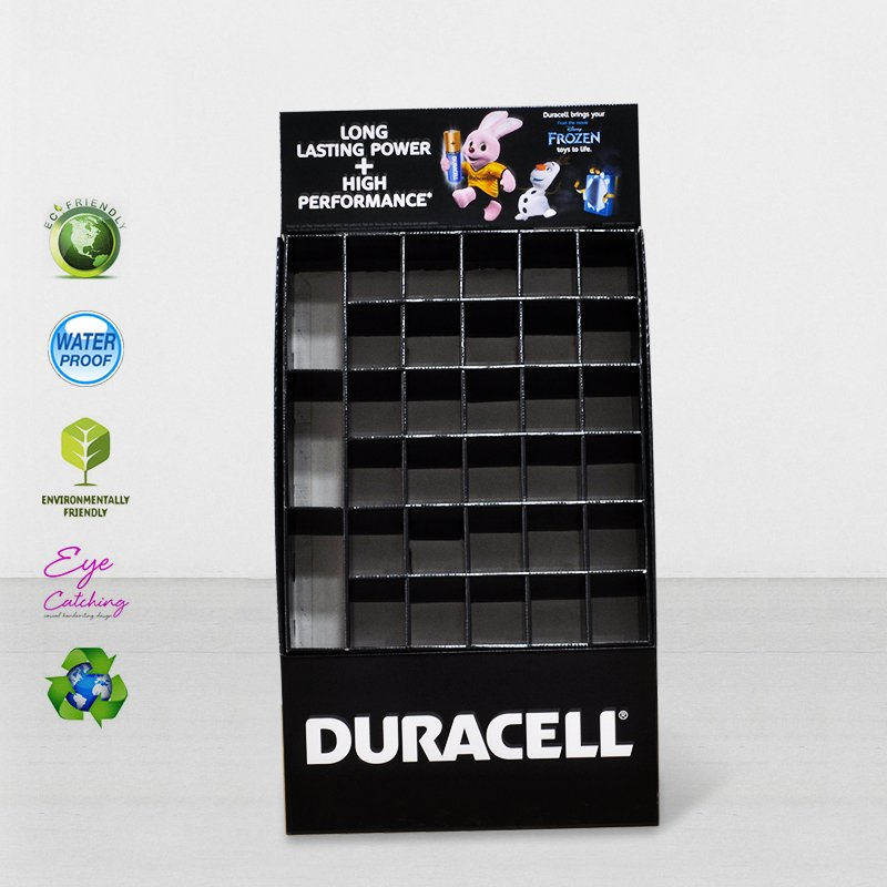 CAI YI JIE Stair Step Cardboard Retail Display Stands For Products Cardboard Floor Display image24