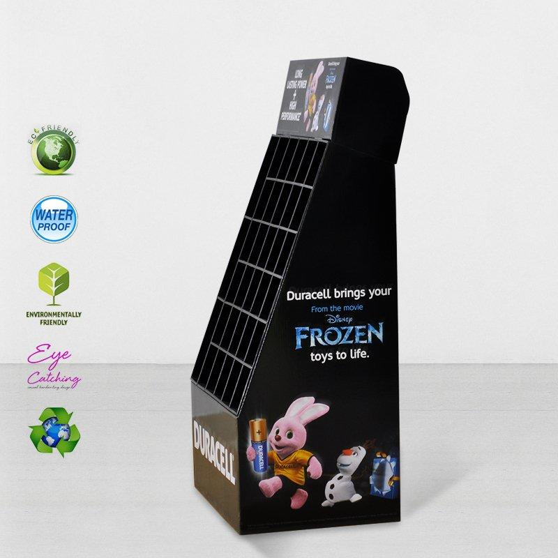 Stair Step Cardboard Retail Display Stands For Products