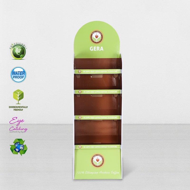 CAI YI JIE Printed Cardboard Point Of Sale Display With Plastic Clip Cardboard Floor Display image18