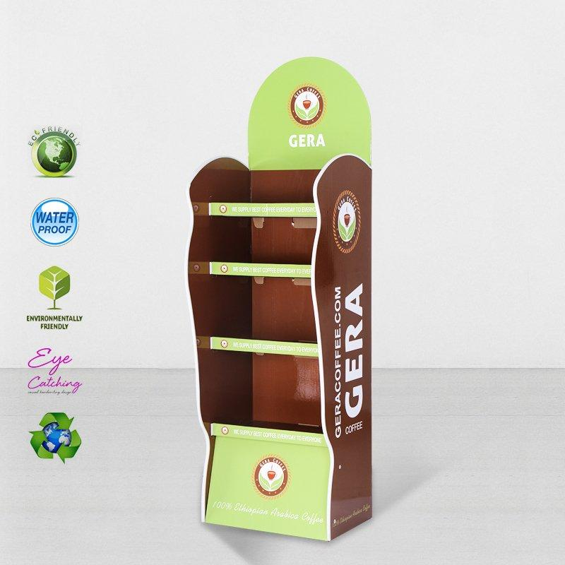 Printed Cardboard Point Of Sale Display With Plastic Clip