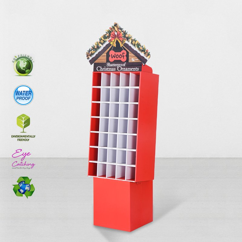 CAI YI JIE Cardboard Point Of Sale Display Stands For Promotional Cardboard Floor Display image17