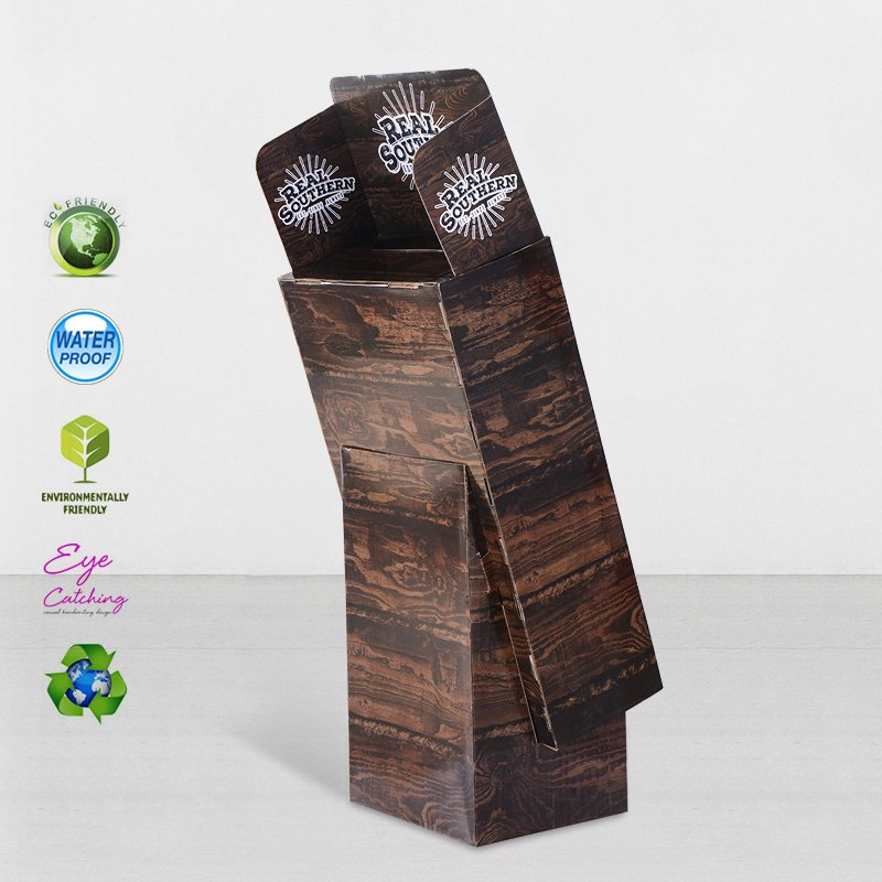 CAI YI JIE Fashion Cardboard Pop Displays For Chain Stores Cardboard Floor Display image49