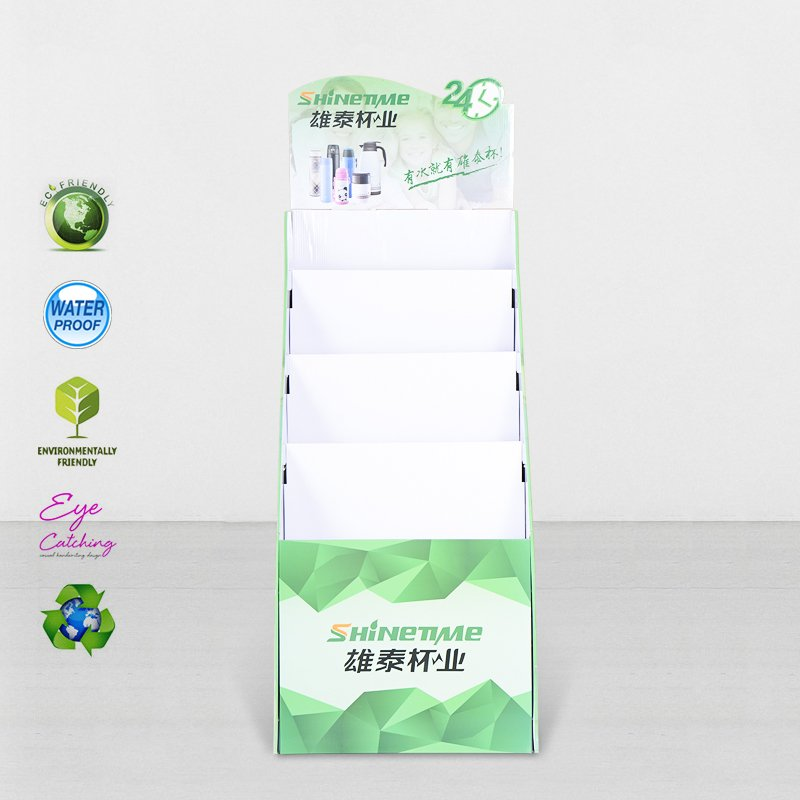 CAI YI JIE Cardboard Floor Display Stands For Retail Stores Product Sale Cardboard Floor Display image47