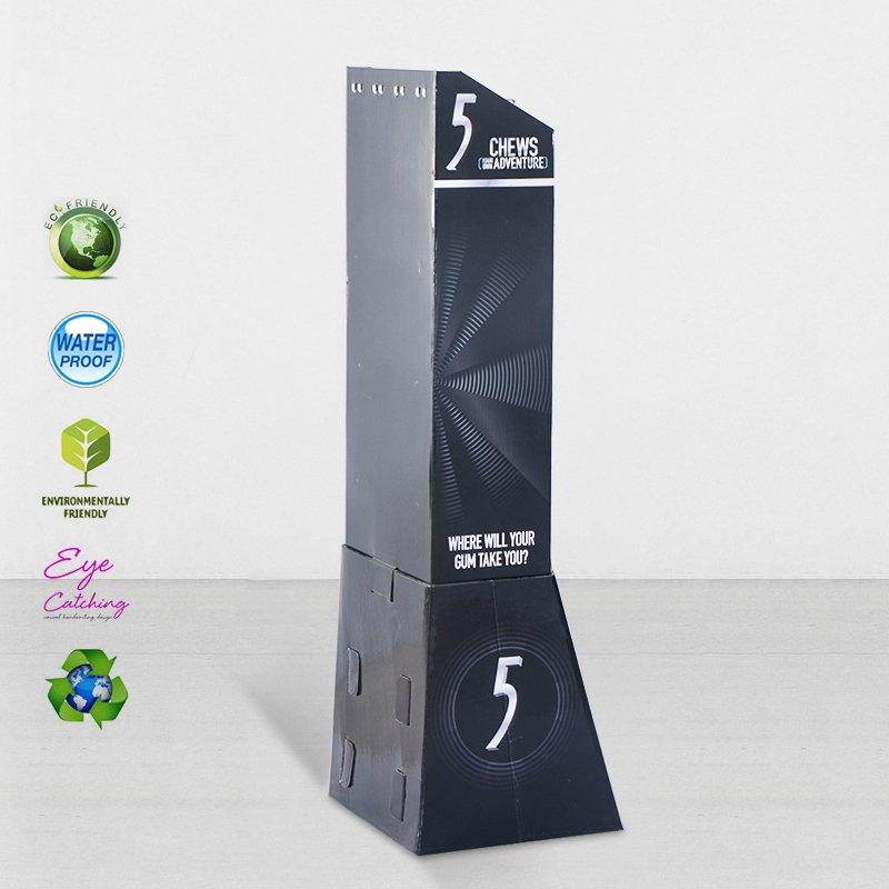 CAI YI JIE Stair Step Cardboard Display Stands For Marketing Sale Cardboard Hook Display image44