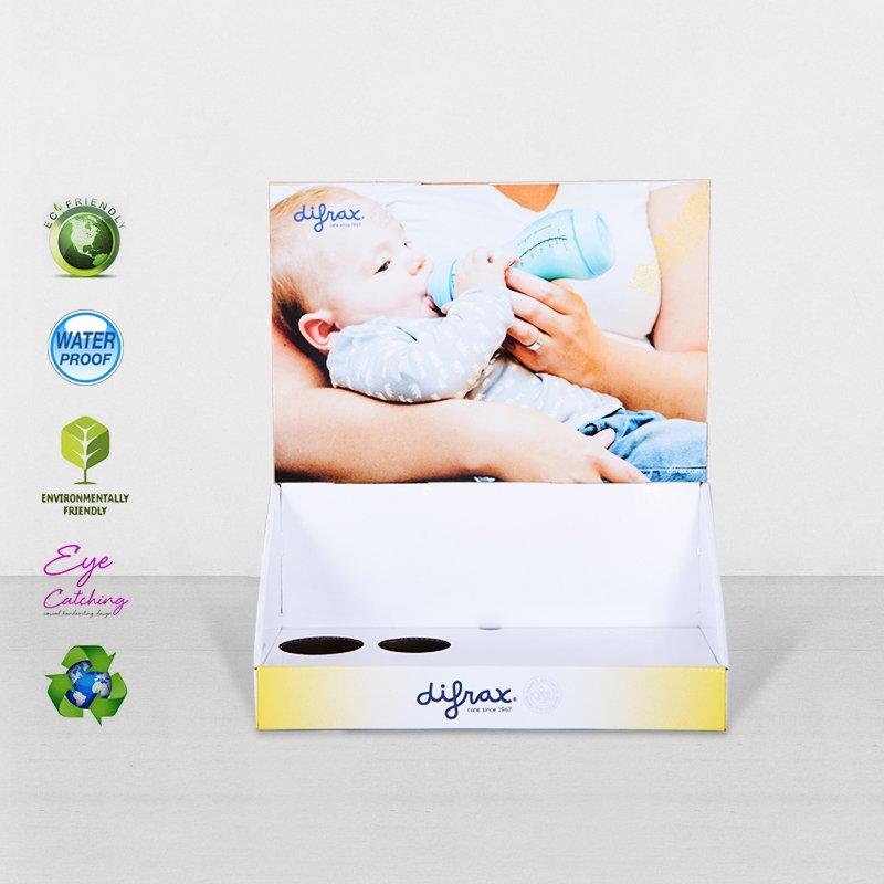 CAI YI JIE Printed Cardboard Countertop Displays For Grocery Promotional Cardboard PDQ image26