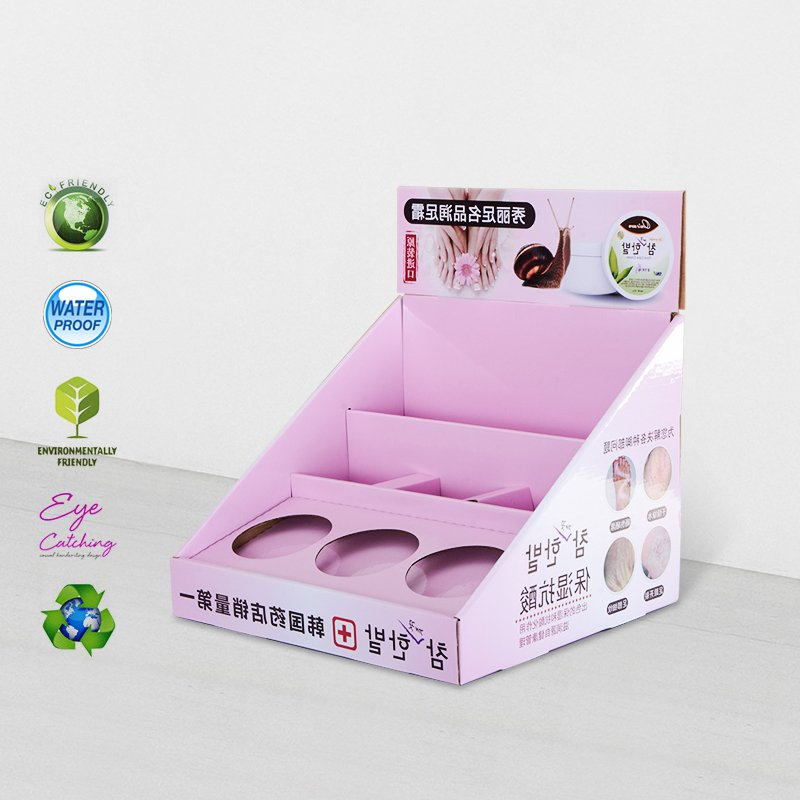 CAI YI JIE Cardboard Counter Display For Retail Product Promotional Cardboard PDQ image25