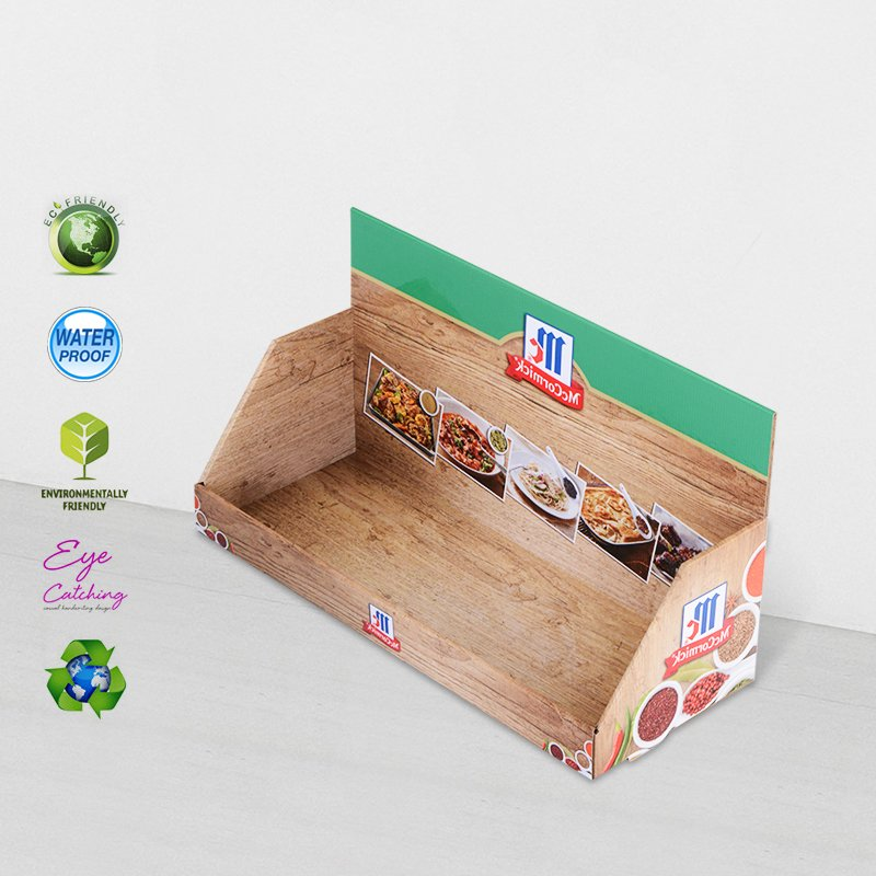 CAI YI JIE Cardboard Counter Display Stands For Marketing Products Sale Cardboard PDQ image43