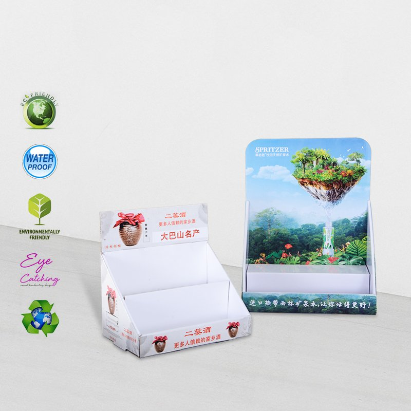 CAI YI JIE Cardboard Display Units For Chain Stores Promotional Sale Cardboard PDQ image42