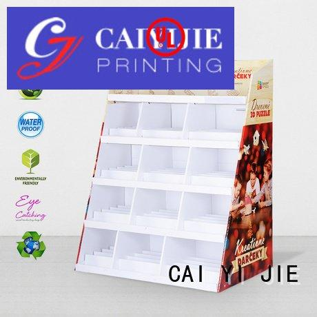 cardboard greeting card display stand retail product cardboard stand