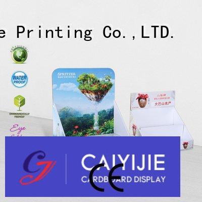 CAI YI JIE cardboard supermarkets cardboard display boxes marketing chain