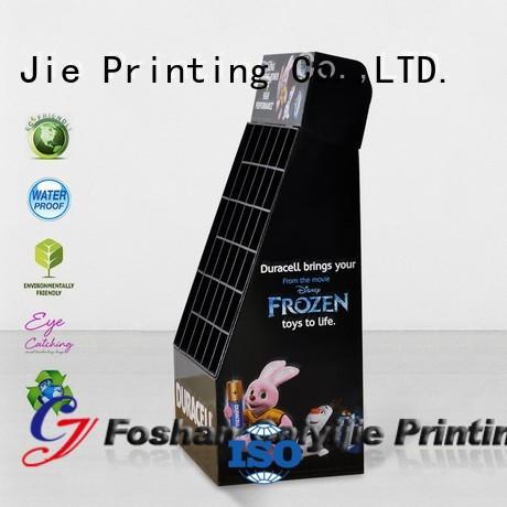 CAI YI JIE custom cardboard display stands for paper shelf