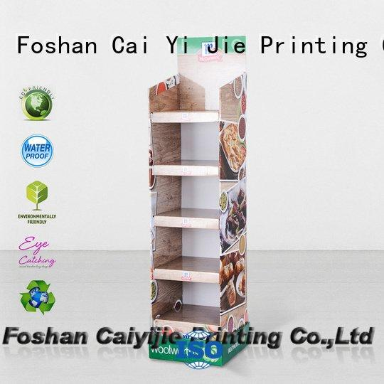 cardboard greeting card display stand displays stand corrugated color Bulk Buy