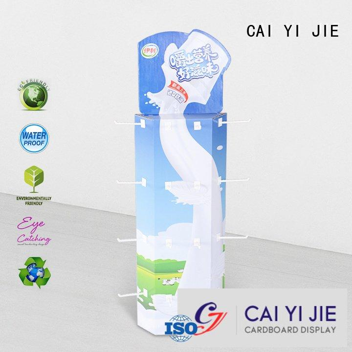 power corrugated CAI YI JIE sidekick display rack