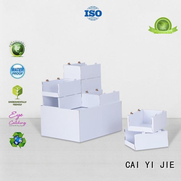 pallet cardboard carton for chain store CAI YI JIE