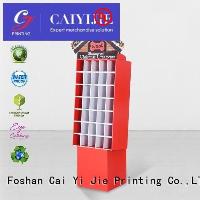 multifunctional retail floor displays CAI YI JIE
