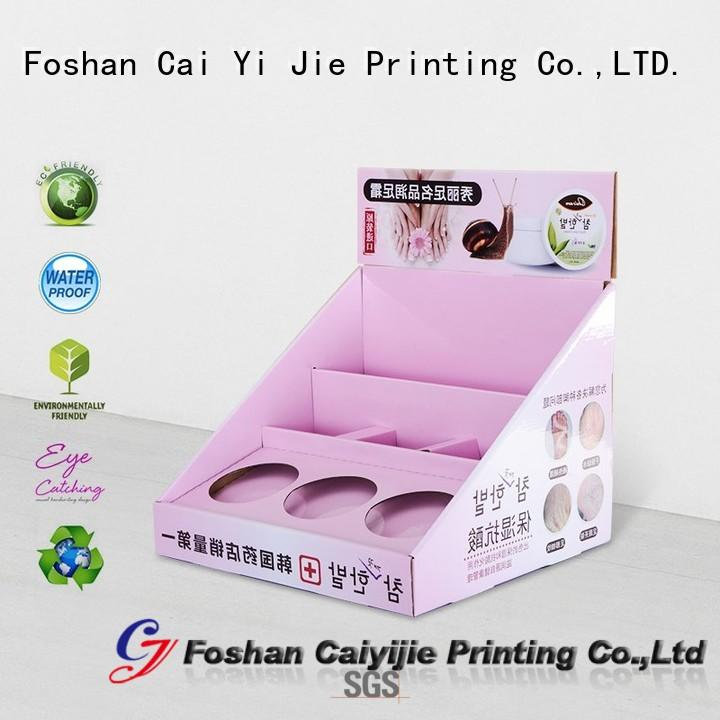 grocery cardboard book display boxes hot-sale for marketing