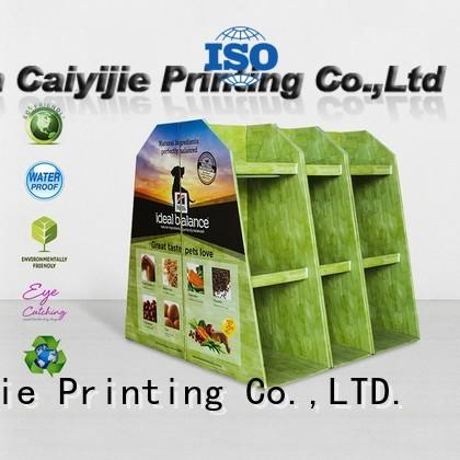 pallet display carton for chain store CAI YI JIE