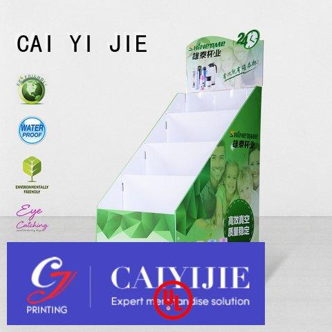 stands cardboard stand CAI YI JIE cardboard greeting card display stand