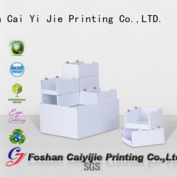 clip corrugated pallet display for chain store CAI YI JIE