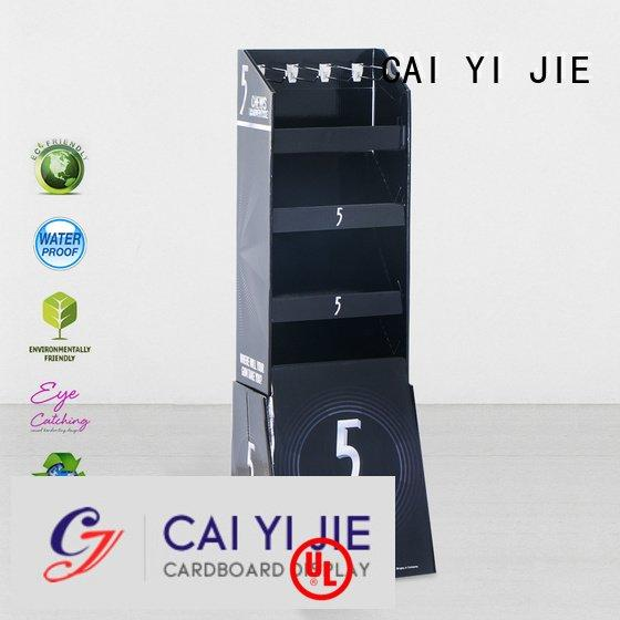 counter hook display stand printing hook display stand CAI YI JIE Brand