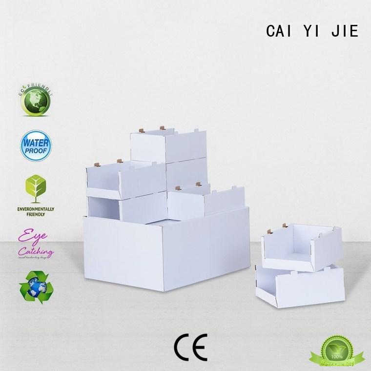 cardboard pallet display pos CAI YI JIE Brand pallet display