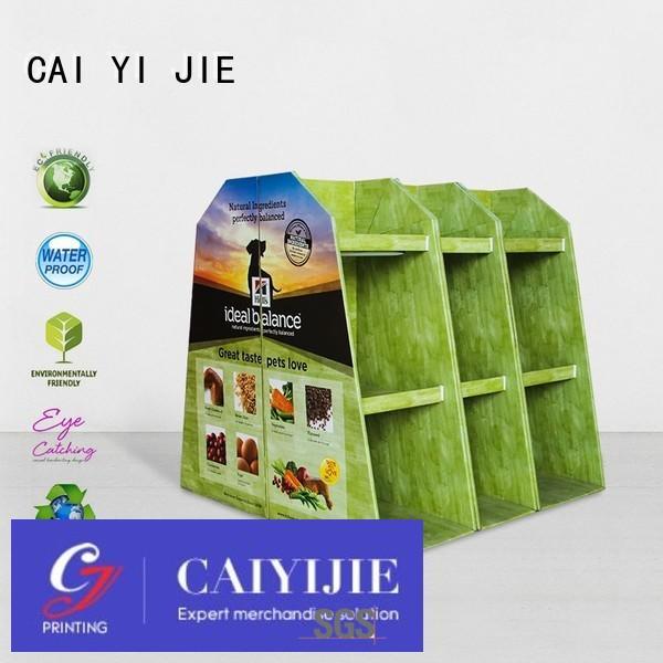 cardboard pallet display display sales pallet display plastic CAI YI JIE Brand