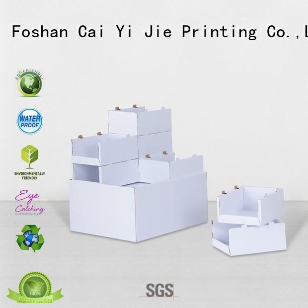 clip pallet cardboard fsdu for shop CAI YI JIE