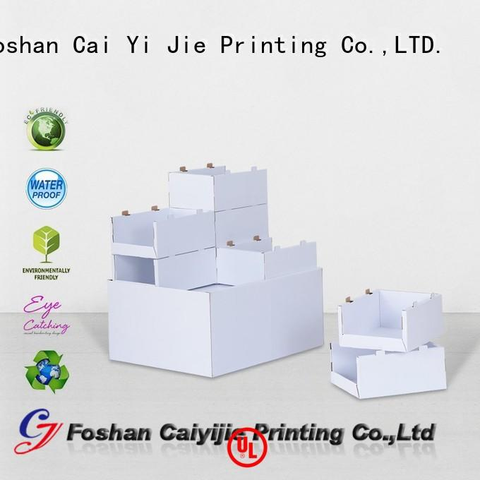 CAI YI JIE Brand racks pos cardboard pallet display mobile supplier