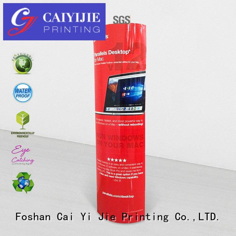 promotional cardboard display CAI YI JIE lama display