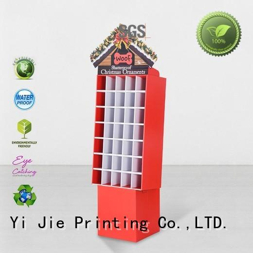 modeling cardboard card display stand uv for cabinet CAI YI JIE