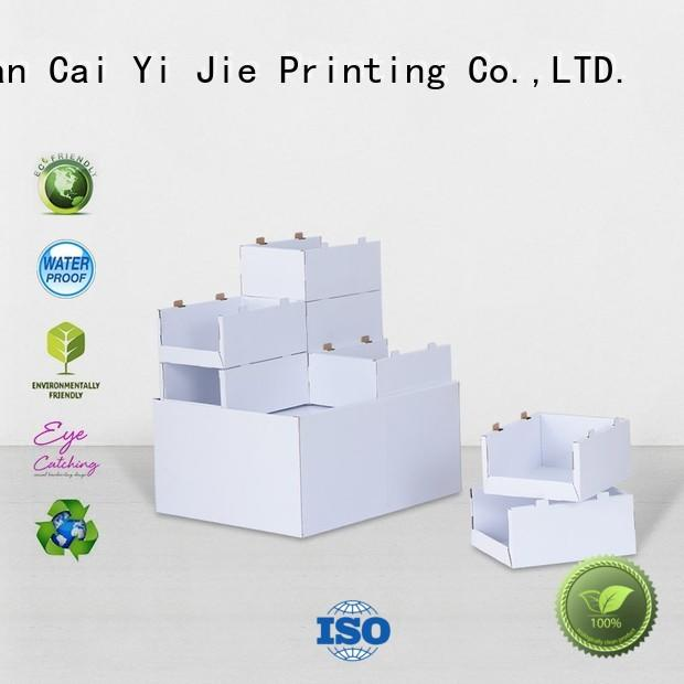 CAI YI JIE cardboard pallet display pos for chain store