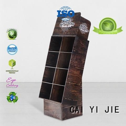 multifunctional cardboard counter display stands workbench for milk