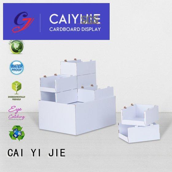 CAI YI JIE cardboard pallet display pallet easy racks corrugated