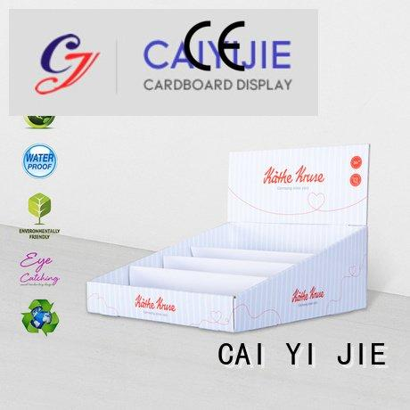 Custom retail cardboard display boxes stands custom cardboard counter displays