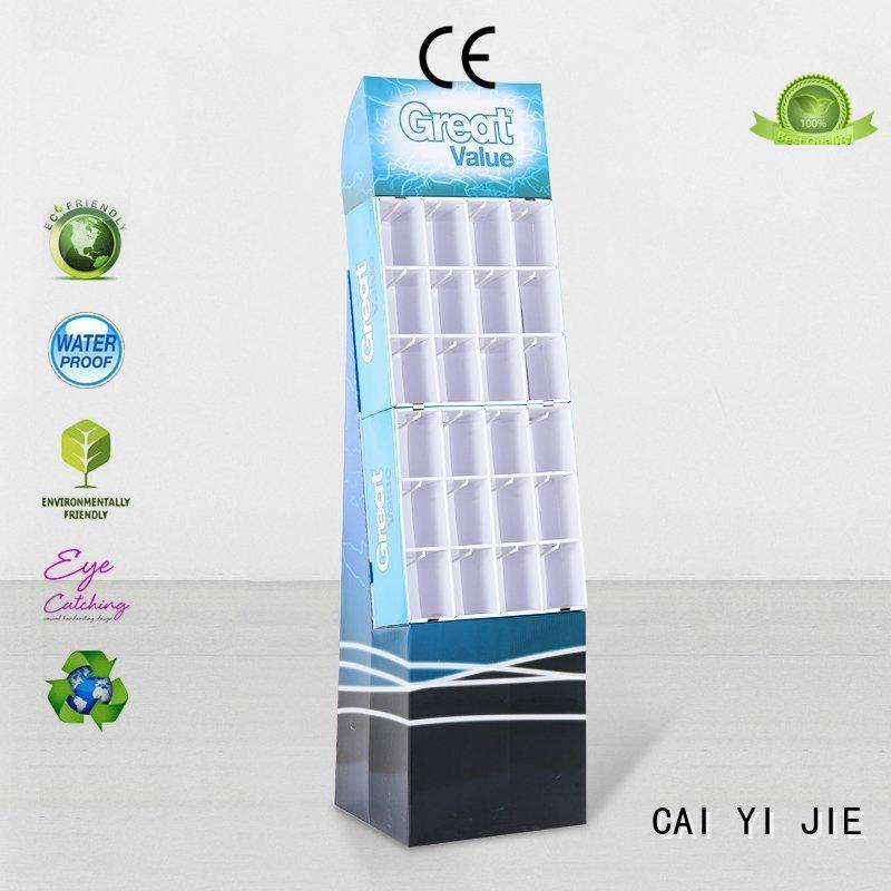ODM counter hook display stand manufacturer for perfume CAI YI JIE