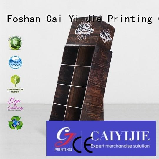 point of purchase displays printed CAI YI JIE