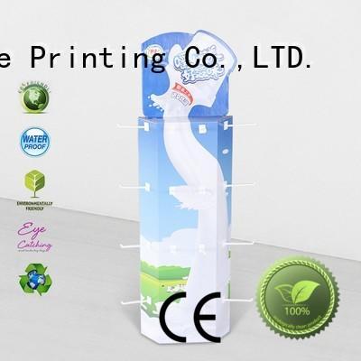 corrugated display corrugated cardboard displays company for goods CAI YI JIE