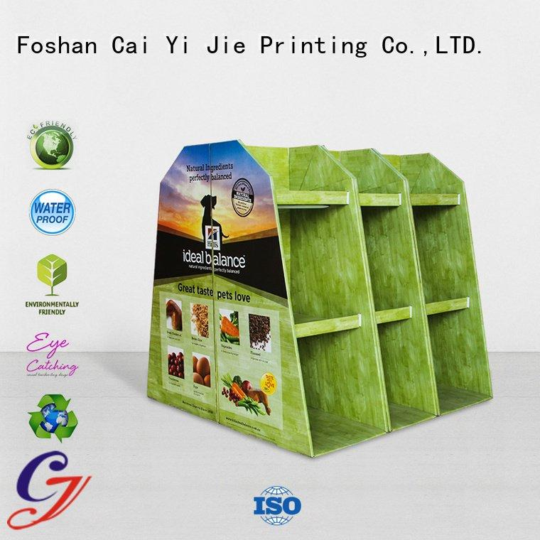 cardboard pallet display easy pallet display install CAI YI JIE