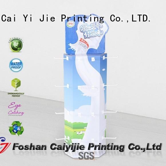 CAI YI JIE OEM sidekick display company for marketing