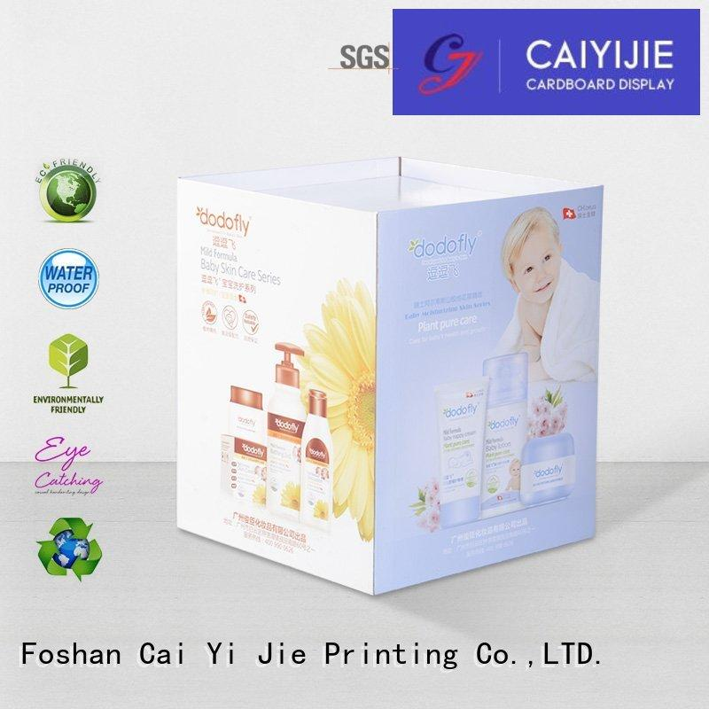 dump bin manufacturers color for merchandising CAI YI JIE